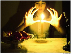 casting a love spell